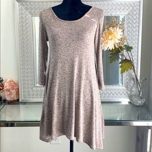 Pinc Long Sleeve Dress